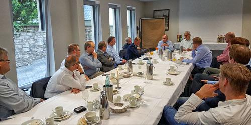 """AK Frühstück mit Walter Kern und Bernhard Tenhumberg, """"AK Zukunft & Politik"""""""